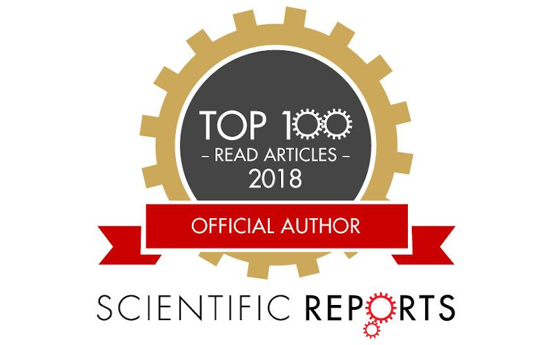 In the top 100 of Scientific Reports