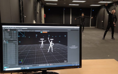 3D avatars and virtual environments with Optitrack!