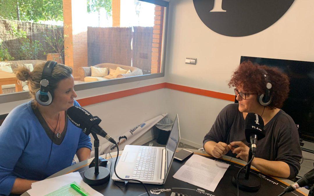 Radio interview to Carmen Torrecilla