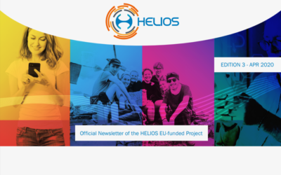 The April 2020 official newsletter of the HELIOS EU-funded project is now available!