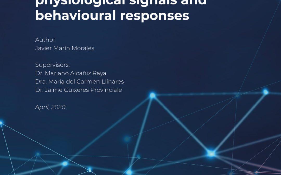 Javier Marín Morales defended his doctoral thesis