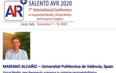 Mariano Alcañiz keynote speaker at SalentoAVR 2020