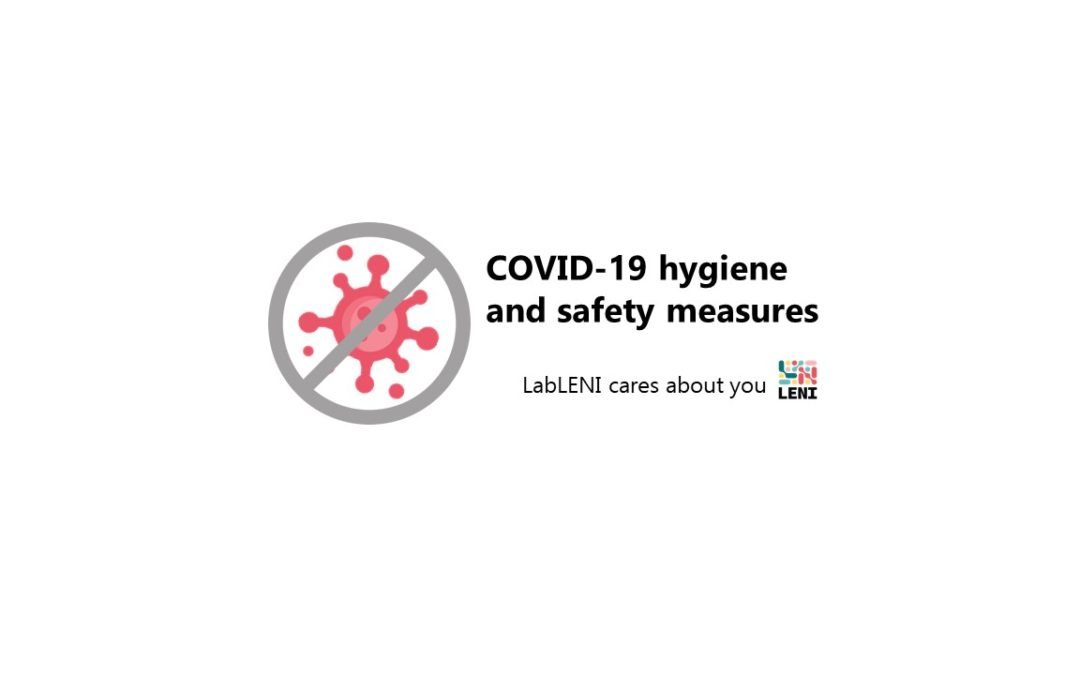 COVID-19 hygiene and safety measures