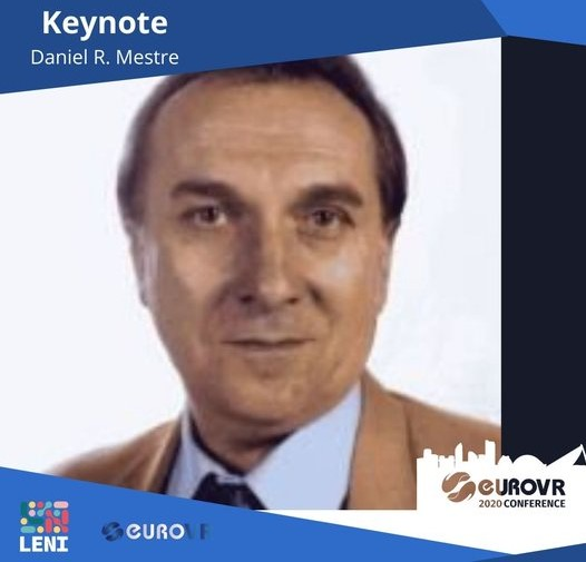 First Keynote Speaker of EuroVR2020 announcement!